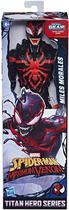 Boneco Miles Morales - Marvel Titan Hero Series - Hasbro E8686 -