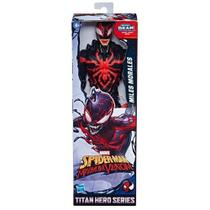 Boneco Miles Morales Maximum Venom Marvel Titan Hero Series - Hasbro
