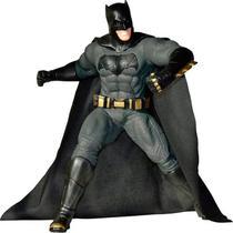 Boneco Mimo Premium Liga da Justiça - Gigante 50 cm de Altura - Batman - Bandeirante