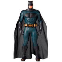 Boneco Mimo Premium Liga da Justiça - Gigante 50 cm de Altura - Batman Marinho - Bandeirante