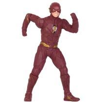 Boneco Mimo Premium Liga da Justiça - Gigante 50 cm de Altura - Flash -