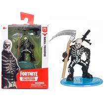 Boneco Mini Figura Fortnite Skull Trooper e Acessorios 84706 - Fun