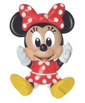Boneco Minnie Turma Da Disney Baby De Vinil Lider -