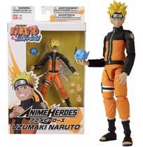 Boneco Naruto Shippuden - Naruto Uzumaki -  Anime Heroes - Fun
