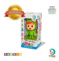 Boneco Nina Pocoyo Certificado Original Cardoso Toys Vinil -