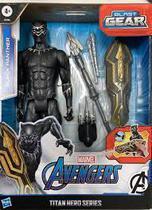 Boneco Pantera Negra Lançador Titan Hero Blast Gear Hasbro E7388 -