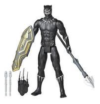Boneco Pantera Negra Lançador Titan Hero Blast Gear - Hasbro -