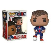 Boneco Paris Saint Germain Neymar Jr 20 Funko Pop -