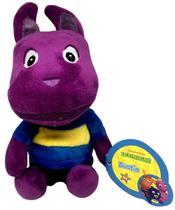 Boneco Pelúcia Pequeno Musical Canguru Austin Roxo Backyardigans Emite Sons Nickelodeon - BBR Toys -