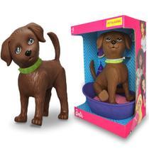 Boneco Pet Da Barbie DJ Cachorro Faz Xixi +3 Anos - Mattel Pupee -