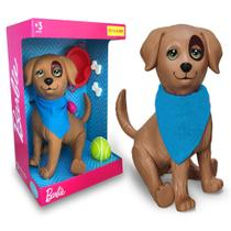 Boneco Pet da Barbie Rookie Cachorro +3 Anos - Mattel Pupee -