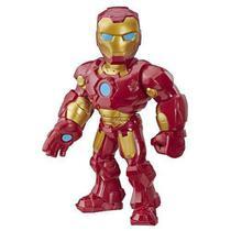 Boneco Playskool Hero Mega Mighty  Articulado 25 cm Homem de Ferro - Hasbro -