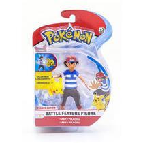 Boneco pokemon 4,5 pikachu - Dtc