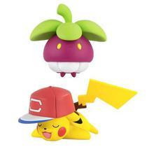 Boneco Pokemon - Figura De Ação - Bounsweet Vs Pikachu - Tomy -
