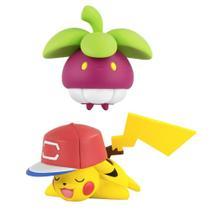 Boneco Pokemon - Pikachu vs Bounsweet - Tomy -