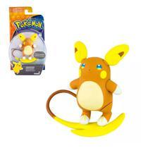 Boneco Pokémon Raichu Alolan Articulado Action Figure Tomy Original 10cm -
