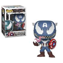 Boneco Pop Funko 364 Marvel: Venomized Captain America - Pop!