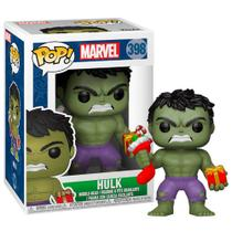 Boneco Pop Funko 398 Marvel: Hulk - Pop!