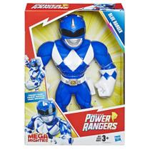 Boneco Power Ranger Azul Mega Mighties Playskool Heroes E5874 E5869 - Hasbro -