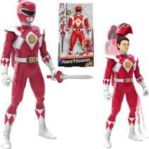 Boneco Power Rangers - Ranger Vermelho 30cm Morphin - Hasbro -