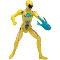Boneco Power Rangers - Yellow Ranger Amarelo - Original Sunny -