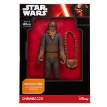Boneco Premium - Chewbaca - Disney Star Wars - 40 cm - Mimo -