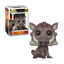 Boneco Pumbaa 550 Disney O Rei Leão - Funko Pop -