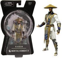 Boneco Raiden Mortal Kombat X Mezco Toyz 16cm Game Action Figure -