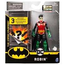 Boneco Robin Articulado Com Acessórios Surpresa 10Cm DC -