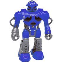 Boneco Robô - 13 cm - Tecno XR-S - Azul - DTC -