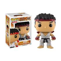 Boneco Ryu 137 Street Fighter - Funko Pop -