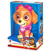 Boneco Skye Patrulha Canina de Vinil Premium com função cofrinho - Lider