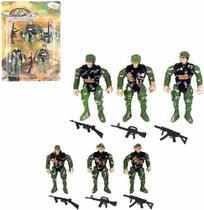 Boneco Soldado Militar Missao Resgate W-force Com Acessorios - Wellmix
