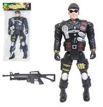 Boneco soldado missão resgate combat force - Wellmix