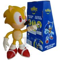 Boneco Sonic Amarelo Unitário - Baratotal Store