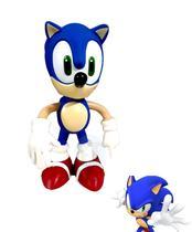 Boneco Sonic Azul Unitário - Baratotal Store
