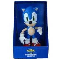 Boneco Sonic Collection Grande 25cm Original - Super Size Figure Collection