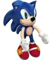 Boneco Sonic De Pelúcia 50cm Gigante Ouriço Veloz Bichinho - Pelucia