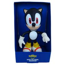 Boneco Sonic Preto Grande Collection Shadow - Super Size Figure Collection