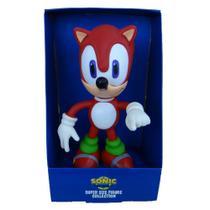 Boneco Sonic Vermelho Grande Collection - Super Size Figure Collection