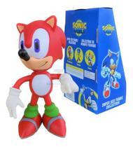 Boneco Sonic Vermelho Unitário - Baratotal Store