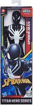 Boneco Spider Man - Homem Aranha Traje Preto 30 cm - Hasbro -