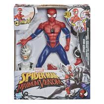 Boneco spider-man homem aranha venom + acessorios - hasbro -