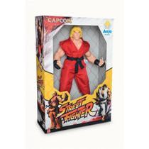 Boneco Street Fighter - Ken - Anjo - Brinquedos Anjo