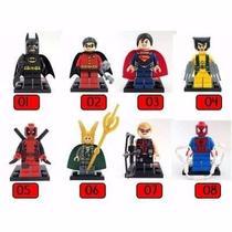 2daa9ddd87a Boneco Super Herois Marvel Dc Star Wars Ninjago Lego - Sy