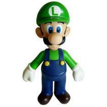 Boneco Super Size Figure Collection Luigi Mario Bros Nintendo - Aloa