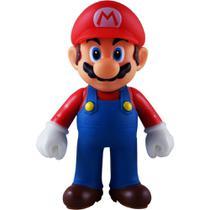 Boneco Super Size: Super Mario Collection - Mario Bros Tradicional - Bonecos