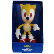 Boneco Super Sonic Amarelo Grande - Super Size Figure Collection