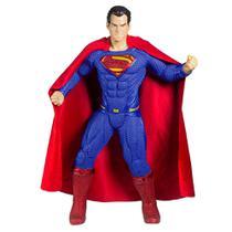 Boneco Superman 50cm Premium Gigante Justice League - Mimo -