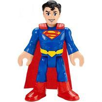 Boneco Superman Grande Imaginext Dc Super Friends 25 Cm Gpt41  Mattel -